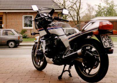 XJ600 Doppelbelichtung