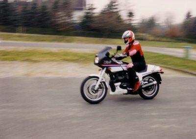 XJ600 in Bewegung